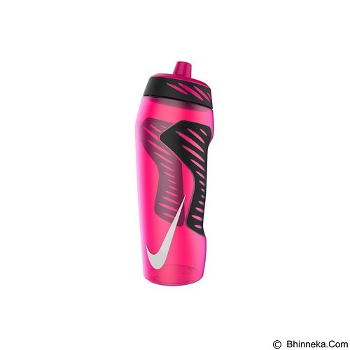 NIKE Hyperfuel Water Bottle 24Oz [N.OB.A6.662.24] - Pink Power/Black/White - Sport Water Bottle / Botol Minum