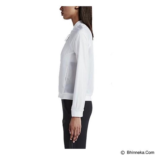 NIKE Tech Hypermesh Bomber Size L - White (Merchant) - Jaket Casual Wanita
