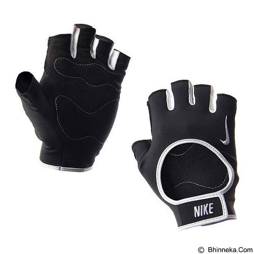 NIKE Womens Fit Training Gloves Size S [N.LG.B0.027.SL] - Black White - Pelindung Tangan / Hand Support