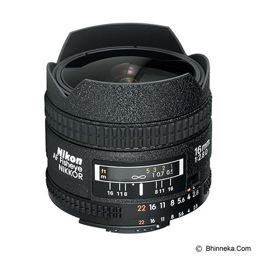 NIKON AF Fisheye 16mm f/2.8D - Camera SLR Lens