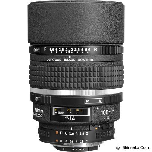 NIKON AF 105mm f/2D DC - Camera Slr Lens