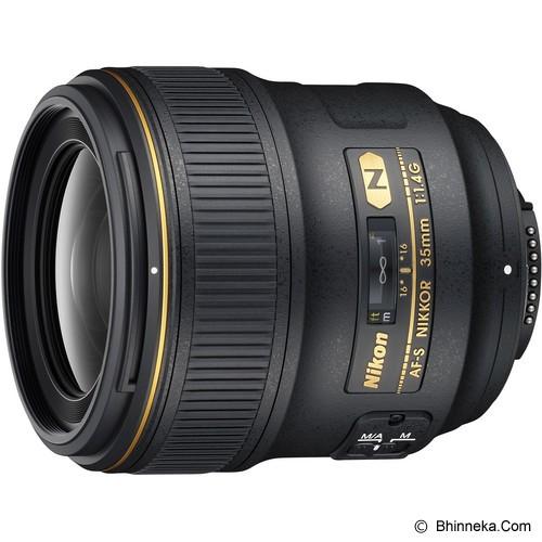 NIKON AF-S 35mm f/1.4G - Camera SLR Lens