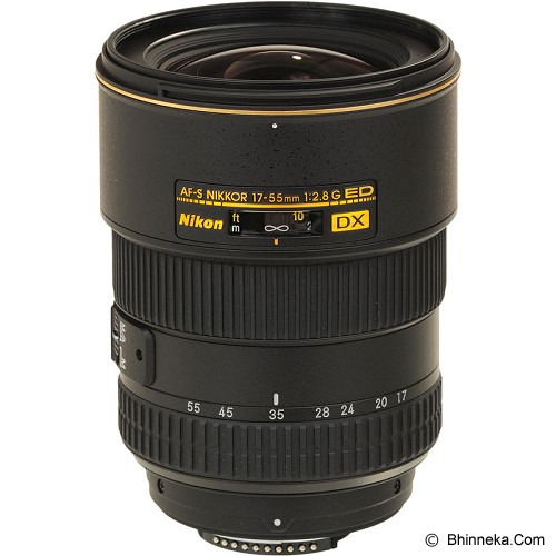 NIKON AF-S DX 17-55mm f/2.8G IF ED - Camera Slr Lens