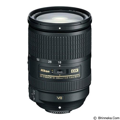 NIKON AF-S DX NIKKOR 18-300mm f/3.5-5.6G ED VR - Camera Slr Lens