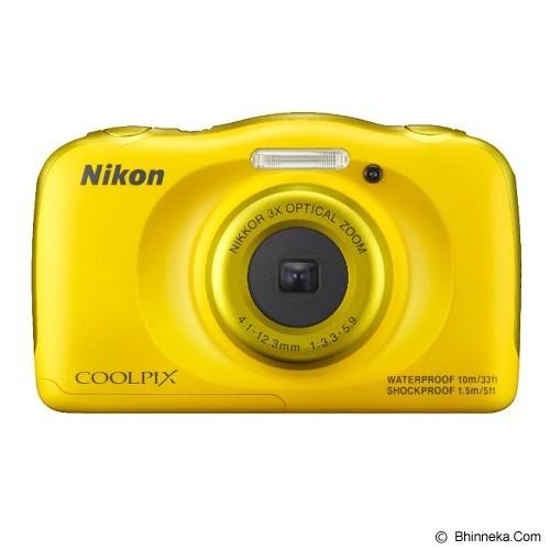 NIKON COOLPIX S33 - Yellow - Camera Underwater
