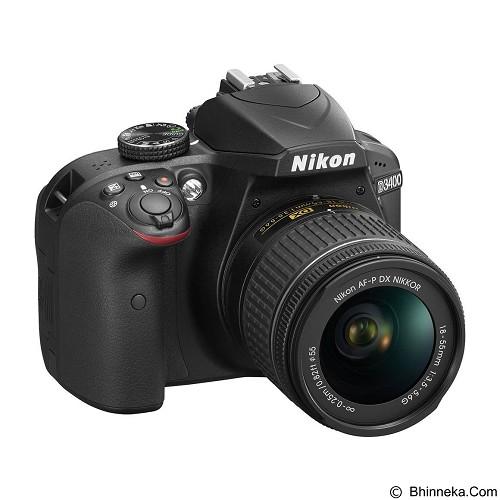 NIKON Camera DSLR D3400 Kit - Camera Slr