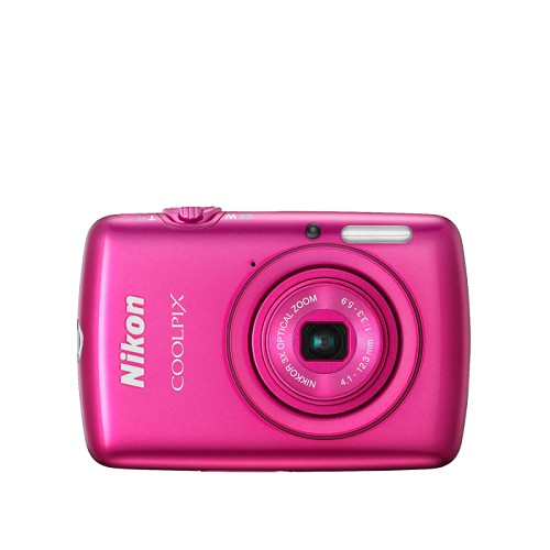 NIKON CoolPix S01 - Pink - Camera Pocket / Point and Shot