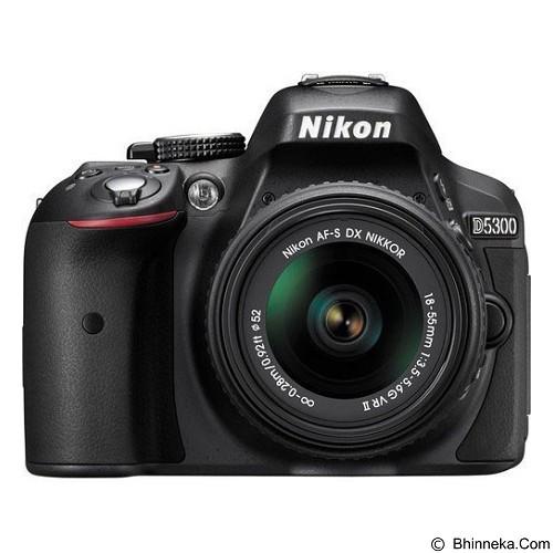 NIKON D5300 Kit - Black + Aksesories - Camera Slr