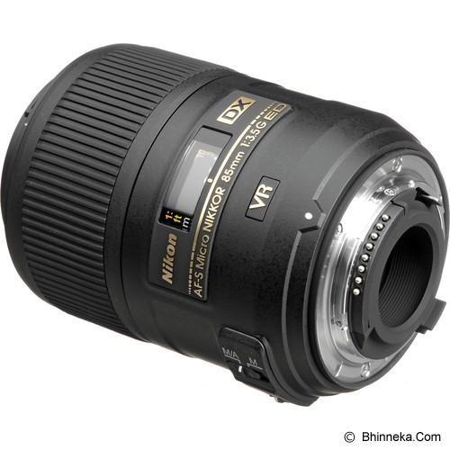 NIKON AF-S DX Micro 85mm f/3.5G ED VR - Camera Slr Lens