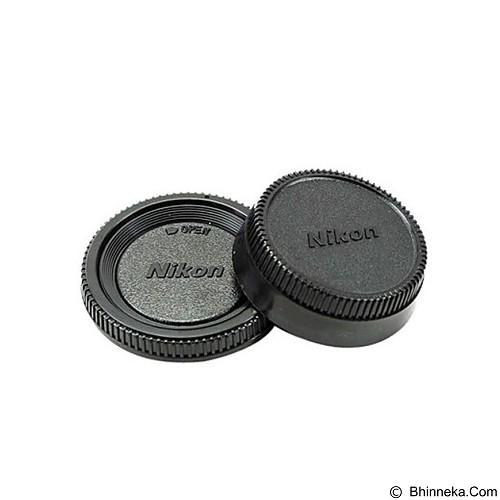 NIKON Rear Cap & Body Cap DSLR - Camera Lens Cap, Hood and Collar