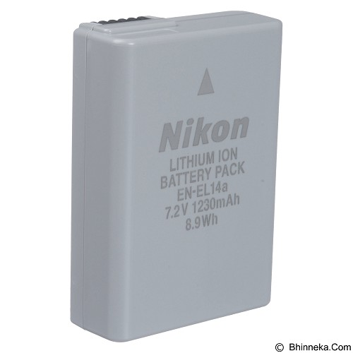 NIKON Rechargeable Li-on Battery EN-EL14A - On Camera Battery