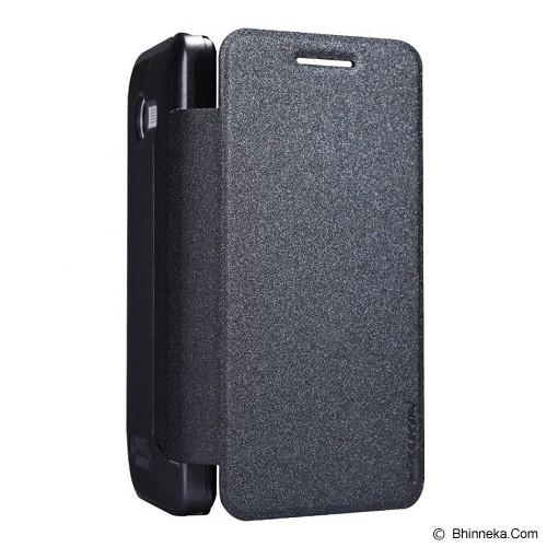 NILLKIN Asus Zenfone 4 Sparkle Flip Leather Case - Black - Casing Handphone / Case
