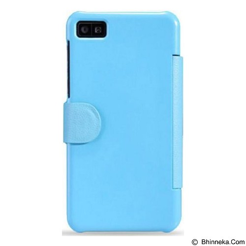NILLKIN Fresh Case Blackberry Z10 Flip Cover - Blue (Merchant) - Casing Handphone / Case