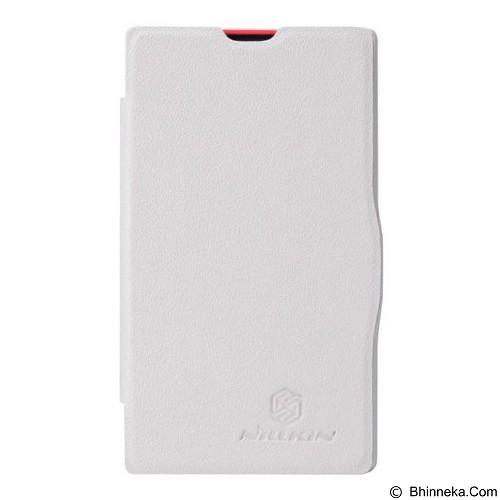 NILLKIN Fresh Case Nokia X Flip Cover - White (Merchant) - Casing Handphone / Case