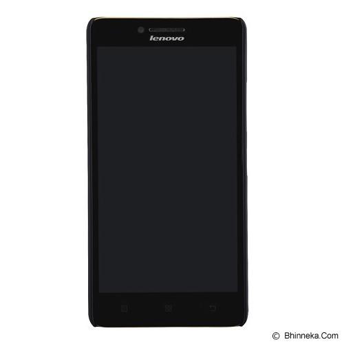 NILLKIN Frosted Hard Case Lenovo A6000 - Black (Merchant) - Casing Handphone / Case