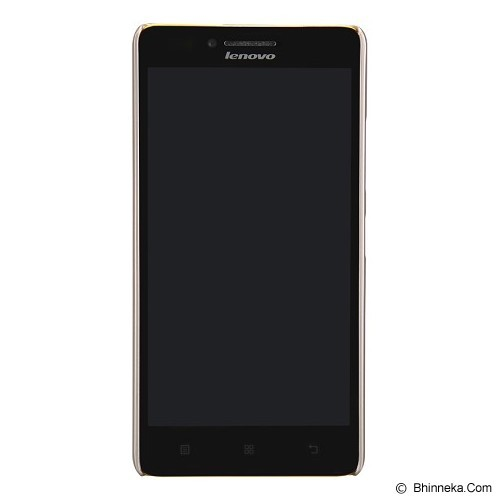 NILLKIN Frosted Hard Case Lenovo A6000 - Gold (Merchant) - Casing Handphone / Case