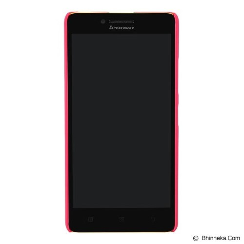 NILLKIN Frosted Hard Case Lenovo A6000 - Red (Merchant) - Casing Handphone / Case