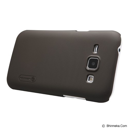 NILLKIN Frosted Hard Case Samsung Galaxy J1 - Brown - Casing Handphone / Case