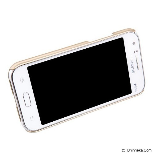 NILLKIN Frosted Hard Case Samsung Galaxy J1 - Gold - Casing Handphone / Case
