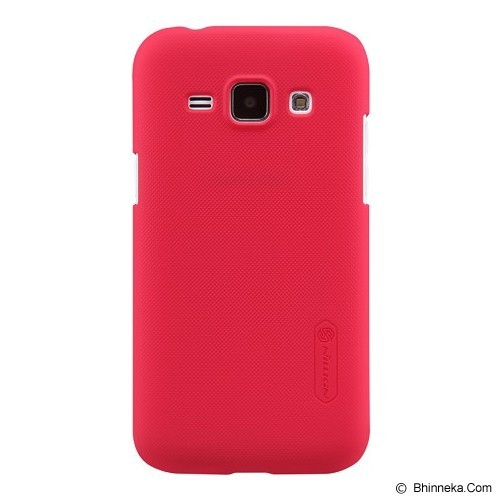 NILLKIN Frosted Hard Case Samsung Galaxy J1 - Red - Casing Handphone / Case