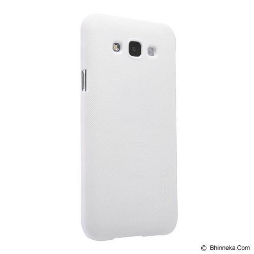 NILLKIN Frosted Hard Case Samsung Galaxy J1 - White - Casing Handphone / Case
