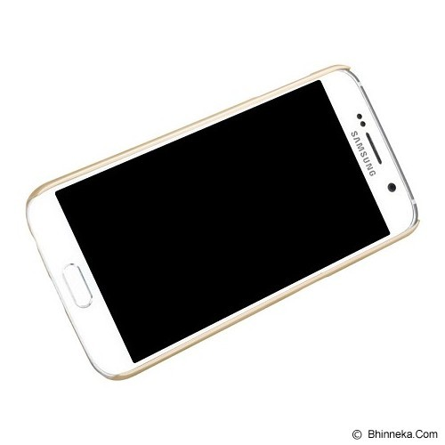 NILLKIN Frosted Hard Case Samsung Galaxy S6 - Gold - Casing Handphone / Case