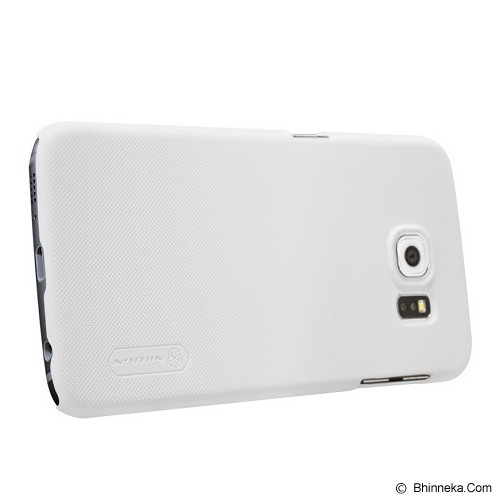 NILLKIN Frosted Hard Case Samsung Galaxy S6 - White - Casing Handphone / Case
