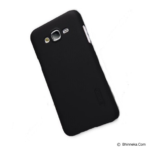 NILLKIN Frosted Shield For Samsung Galaxy J5 - Black - Casing Handphone / Case