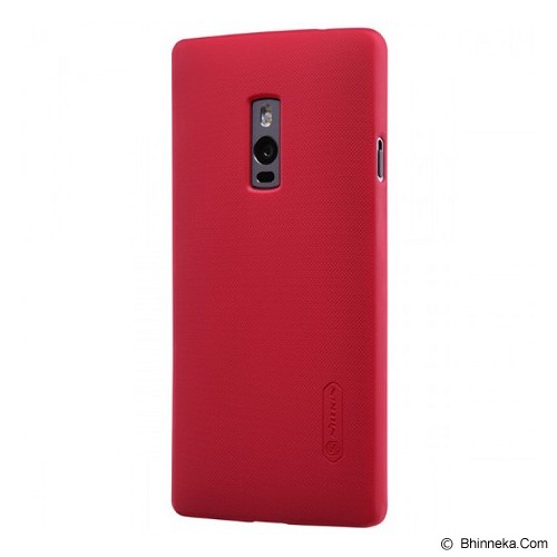 NILLKIN Hard Case OnePlus Two - Red - Casing Handphone / Case
