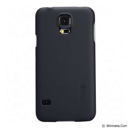 NILLKIN Hard Case Samsung Galaxy S5 i9600 - Black - Casing Handphone / Case