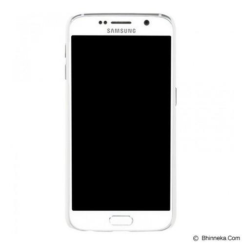 NILLKIN Hard Case Samsung Galaxy S6 G920 - White - Casing Handphone / Case