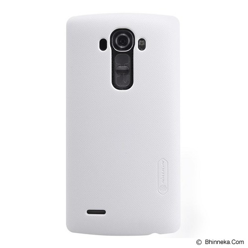 NILLKIN LG G4 Frosted Back Case - White - Casing Handphone / Case