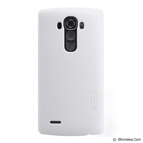NILLKIN LG G4 Frosted Back Case - White - Casing Handphone / Case