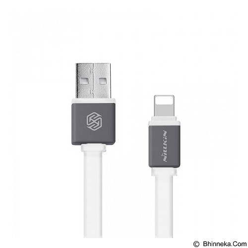 NILLKIN Mini Cable Sync & Charge Lightning for iPhone/iPad 30cm - White (Merchant) - Cable / Connector USB