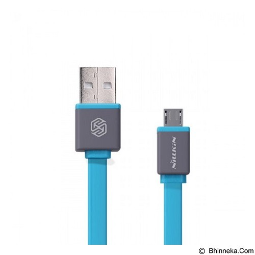 NILLKIN Mini Cable Sync and Charge Micro USB 30cm - Blue (Merchant) - Cable / Connector Usb