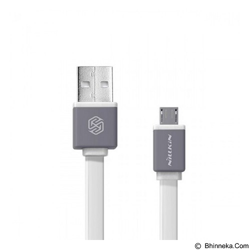 NILLKIN Mini Cable Sync and Charge Micro USB 30cm - White (Merchant) - Cable / Connector Usb
