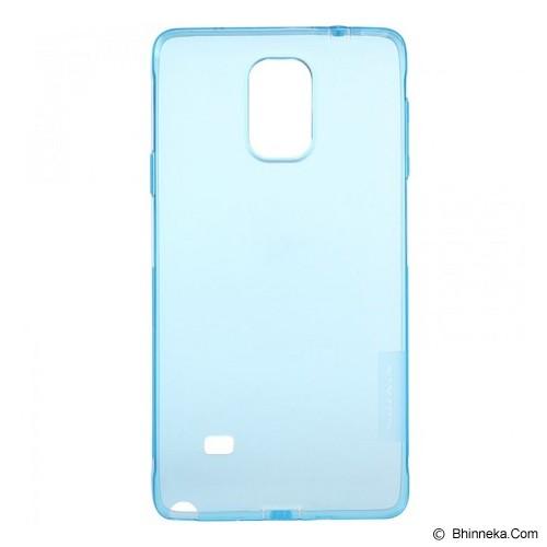 NILLKIN Nature TPU Case Samsung Galaxy Note 4 N9100 - Blue - Casing Handphone / Case