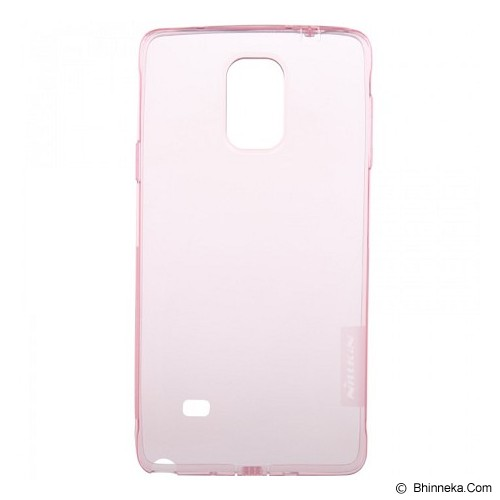 NILLKIN Nature TPU Case Samsung Galaxy Note 4 N9100 - Pink - Casing Handphone / Case
