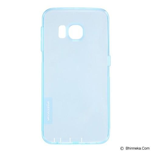NILLKIN Nature TPU Soft Case Samsung Galaxy S6 Edge - Blue - Casing Handphone / Case