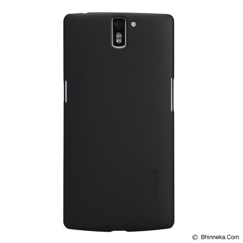 NILLKIN One Plus One Frosted Back Case - Black - Casing Handphone / Case