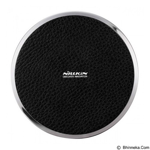 NILLKIN Qi Wireless Charger Magic Disk III - Leather Black (Merchant) - Charger Handphone