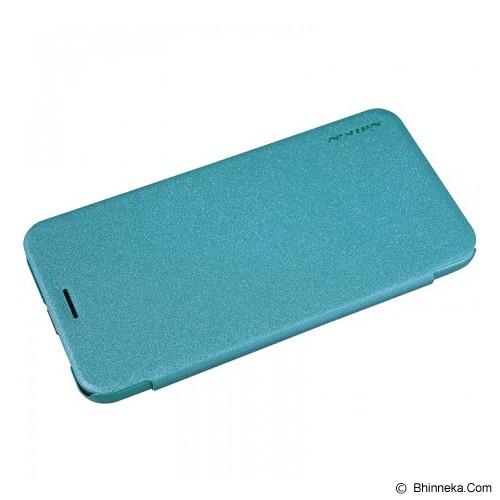 NILLKIN Sparkle Leather Case Asus Zenfone 2 5.0 - Blue - Casing Handphone / Case
