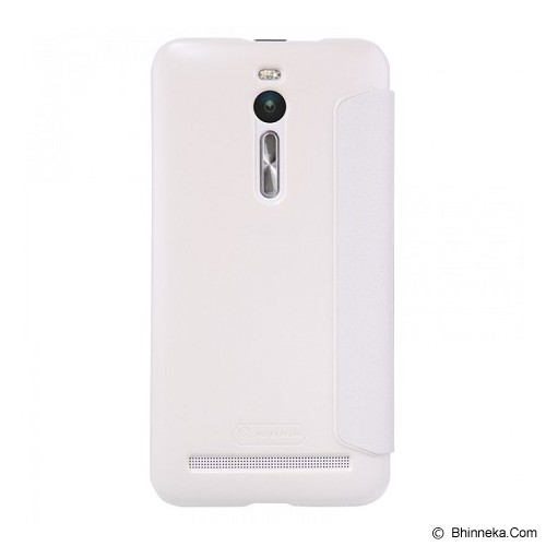 NILLKIN Sparkle Leather Case Asus Zenfone 2 5.5 - White - Casing Handphone / Case