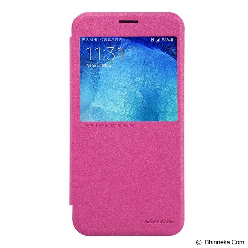 NILLKIN Sparkle for Samsung Galaxy A8 - Pink - Casing Handphone / Case