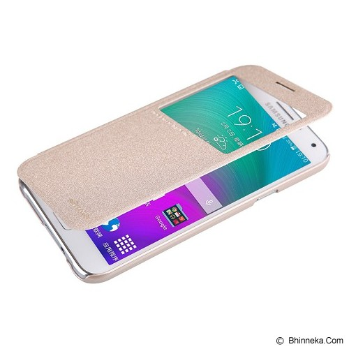 NILLKIN Sparkle for Samsung Galaxy E5 - Gold - Casing Handphone / Case