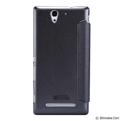 NILLKIN Sparkle for Sony Xperia C3 - Black - Casing Handphone / Case