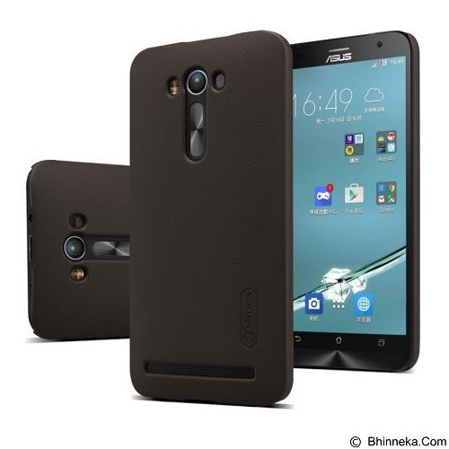NILLKIN Super Frosted Shield Asus Zenfone 2 Laser 5.5 - Brown (Merchant) - Casing Handphone / Case
