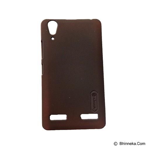 NILLKIN Super Frosted Shield Hardcase Lenovo A6000 - Brown (Merchant) - Casing Handphone / Case