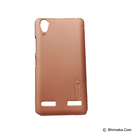 NILLKIN Super Frosted Shield Hardcase Lenovo A6000 - Rose Gold (Merchant) - Casing Handphone / Case