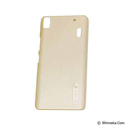 NILLKIN Super Frosted Shield Hardcase Lenovo A7000 - Gold (Merchant) - Casing Handphone / Case